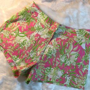 Lilly Pulitzer Safari Jungle Party shorts